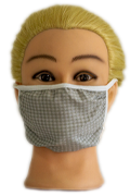Grey Fabric Mask