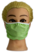 Green Fabric Mask